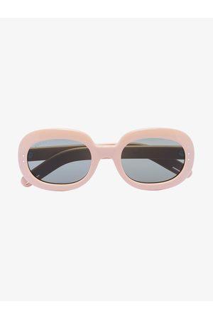 Gucci Lunettes de soleil à monture ovale