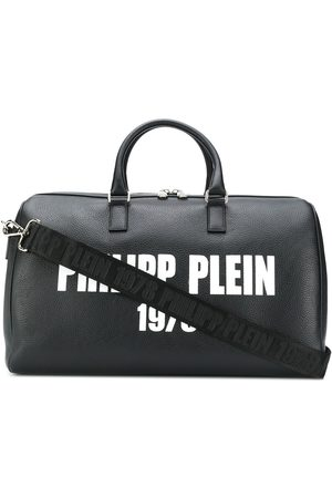 Philipp Plein Medium logo print travel bag