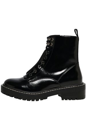 Only Femme Bottines - Leather Look Boots Women Black