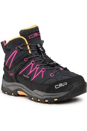 CMP Chaussures de trekking - Kids Rigel Mid Trekking Shoe Wp 3Q12944 Antracite/Bouganville 54UE