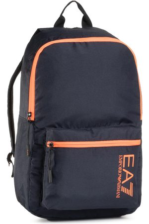 EA7 Sac à dos - 275971 CC980 09239 Night Blu/Orange Flu