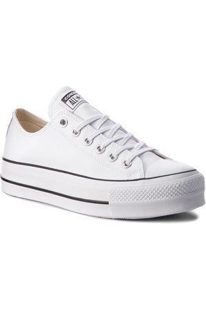 Converse Sneakers - Ctas Lift Clean Ox 561680C White/Black/White