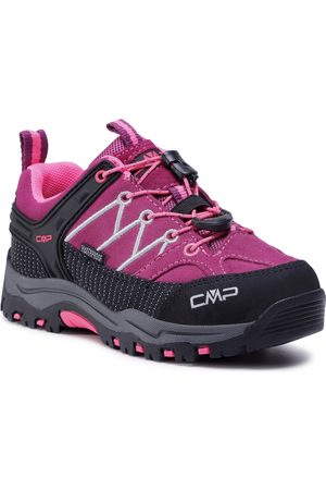 CMP Chaussures de trekking - Kids Rigel Mid Trekking Shoe Wp 3Q13244 Berry/Pink Fluo 05HF