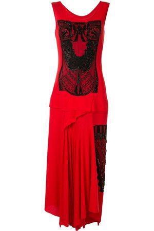 YOHJI YAMAMOTO Femme Robes asymétriques - Robe Technorama Pintuck à ourlet asymétrique