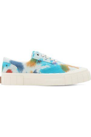 "Good News Sneakers En Coton Côtelé Tie & Dye ""opal"""