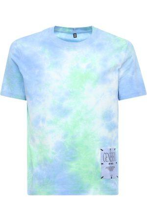 "McQ T-shirt En Coton Imprimé Tie & & Dye ""genesis Ii"""