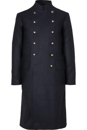 KINGSMAN Shola Slim-Fit Wool and Alpaca-Blend Coat