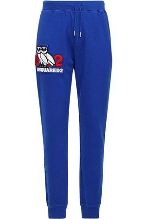 Dsquared2 Pantalon De Sport En Jersey De Coton Imprimé