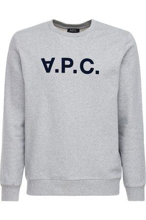 A.P.C Pull-over En Coton Avec Logo