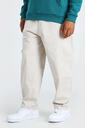 Boohoo Chino court coupe patinage avec taille élastique Homme