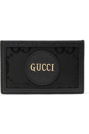 Gucci GG Off The Grid Monogrammed Leather-Trimmed ECONYL Cardholder