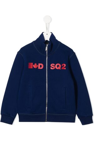 Dsquared2 Zipped logo sweatshirt