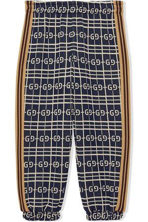Gucci Garçon Pantalons - Pantalon à carreaux GG