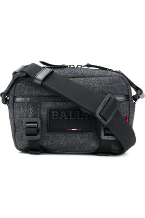 Bally Logo patch shoulder bag