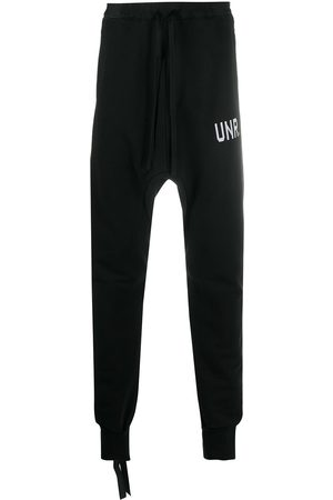 Unravel Project Pantalon de jogging à coupe sarouel