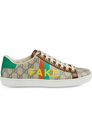 Gucci Femme Baskets - Baskets Ace à imprimé Fake/Not
