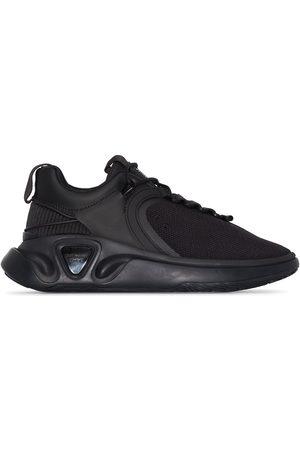 Balmain Black B-Runner mesh and nylon sneakers