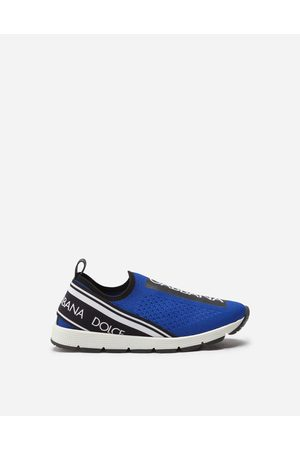 Dolce & Gabbana Chaussures (24-38) - SNEAKERS SLIP ON SORRENTO LOGO TAPE