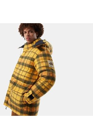 The North Face Parka En Duvet Brown Label Unisexe Summit Gold Heritage 2 Plaid Taille L