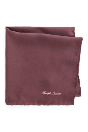 Ralph Lauren Pochette en soie naturelle