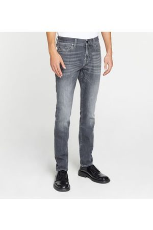 7 for all Mankind Homme Skinny - Jean skinny Ronnie coton mélangé