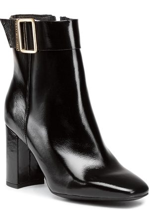 Tommy Hilfiger Bottines - Patent Square Toe Boot FW0FW05156 Black BDS