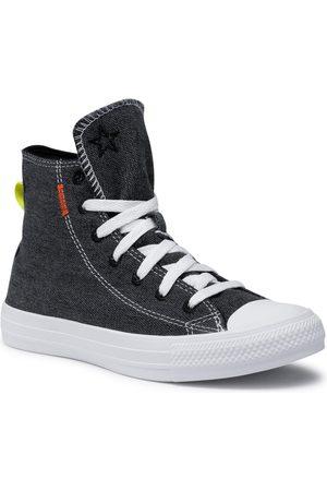 Converse Baskets - Baskets - Ctas Hi 168595C Black/Lemon Venom/White