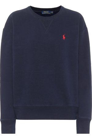 Polo Ralph Lauren Sweat-shirt en coton mélangé à logo