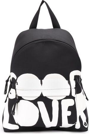 VALENTINO Lovers Language printed backpack