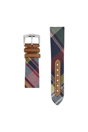 Polo Ralph Lauren Bracelet de montre à motif tartan