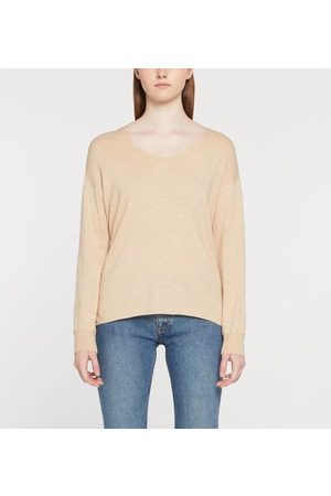 Yerse Pull droit maille fine col V