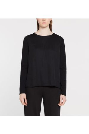 Yerse T-shirt ample coton manches longues