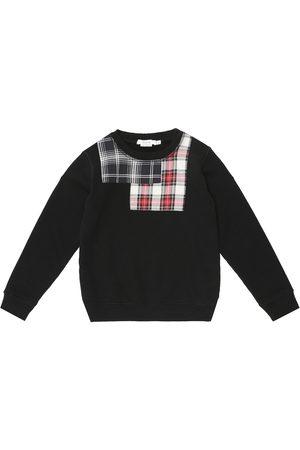 BONPOINT Sweat-shirt à carreaux en coton