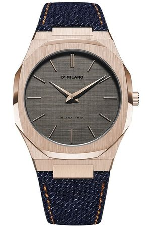 D1 MILANO Montre Western Denim Ultra Thin 40 mm