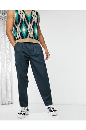 ASOS Pantalon cargo fuselé oversize habillé