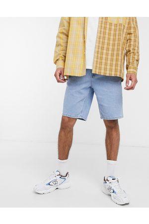 ASOS DESIGN Homme Slim - Short slim en jean - délavé clair