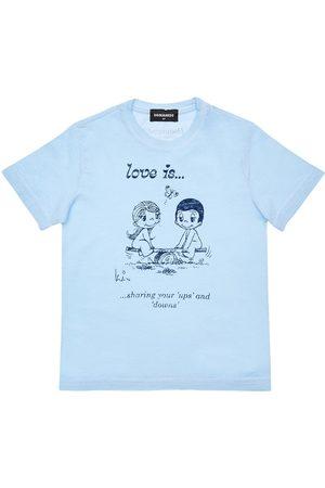"""Dsquared2 T-shirt En Jersey Imprimé """"love Is Capsule"""""""
