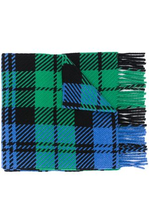 MACKINTOSH écharpe frangée à motif tartan