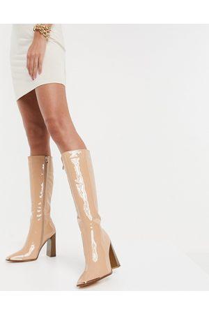 SIMMI Shoes Simmi London Melisa - Bottes hauteur genou avec plaque métallique