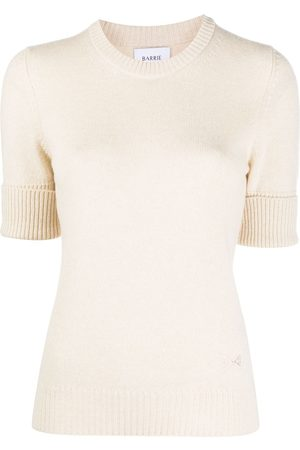 Barrie Blabel cashmere short-sleeve jumper