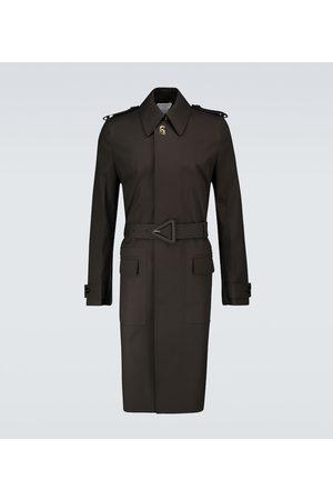 Bottega Veneta Trench-coat imperméable en coton