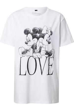 Merchcode T-shirt 'Minnie Loves Mickey