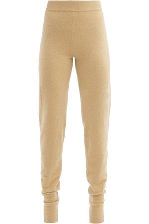 EXTREME CASHMERE Pantalon de jogging fuselé en cachemire stretch