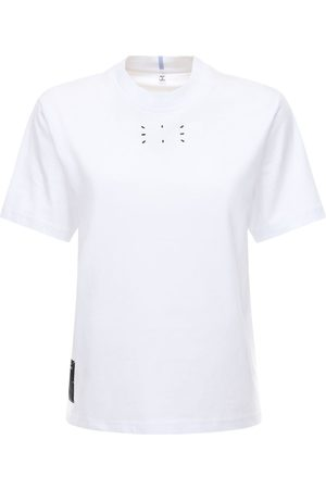 McQ T-shirt En Jersey De Coton Avec Logo