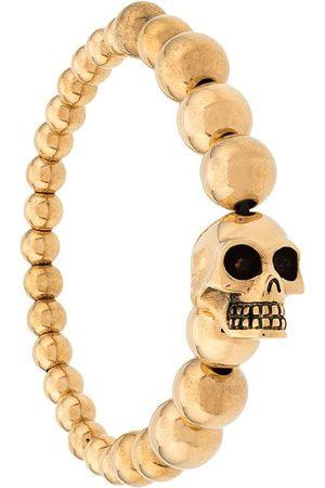 Alexander McQueen Bracelet à breloque tête de mort