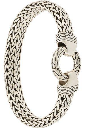 John Hardy Bracelet en chaîne à détail d'anneau
