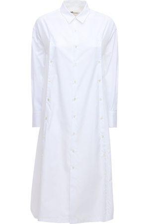 NOIR KEI NINOMIYA Robe Chemise En Popeline De Coton
