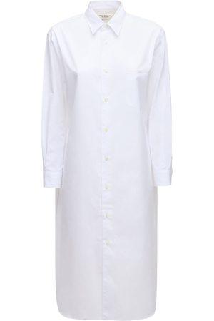 JUNYA WATANABE Robe Chemise En Popeline De Coton