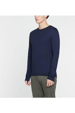 IKKS T-shirt droit coton modal manches longues