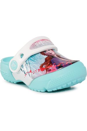 Crocs Mules / sandales de bain - fl Ol Disney Frozen2 Cg K 206167 Ice Blue
